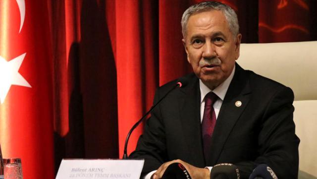 Bülent Arınç'tan 'AK Parti'den istifa edecek misiniz?' sorusuna net yanıt: Neden istifa edeyim?
